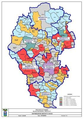 Cartina Distribuzione Abitanti Seggi
