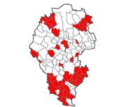 mappa comuni non idonei - agg 27/11/2019