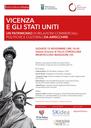 A Villa Cordellina di Montecchio Maggiore incontro con il Console americano in Italia ed il Comandante Berdy