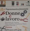 Dall'8 Marzo all'8 Aprile 2019 nella Sala Consiglio di Palazzo Nievo.