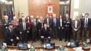 Prima seduta, e prime decisioni, del nuovo Consiglio Provinciale, riunitosi questo pomeriggio a Palazzo Nievo.
