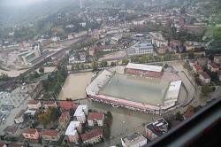 Stadio Menti - Alluvione 2010