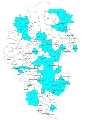 Cartina Comuni Del Veneto.Mappa Comuni Aderenti Sua Provincia Di Vicenza