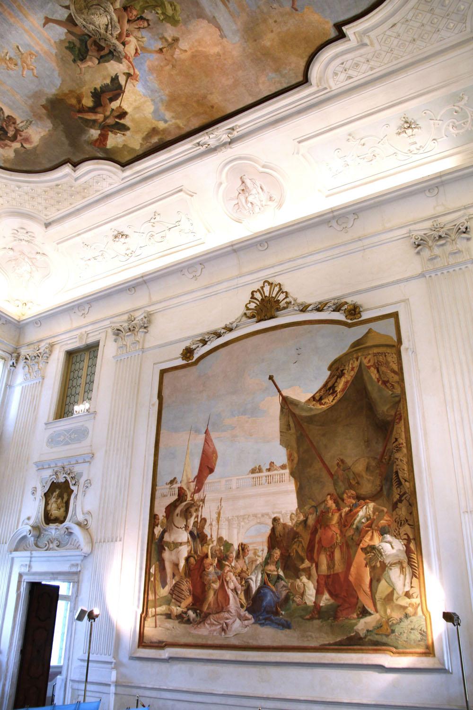 Interno Sale E Affreschi Provincia Di Vicenza